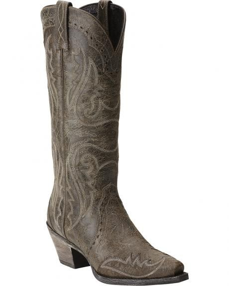 00ccb9e794656 Ariat Heritage Western Wingtip Cowgirl Boots - Snip Toe- this is a ...