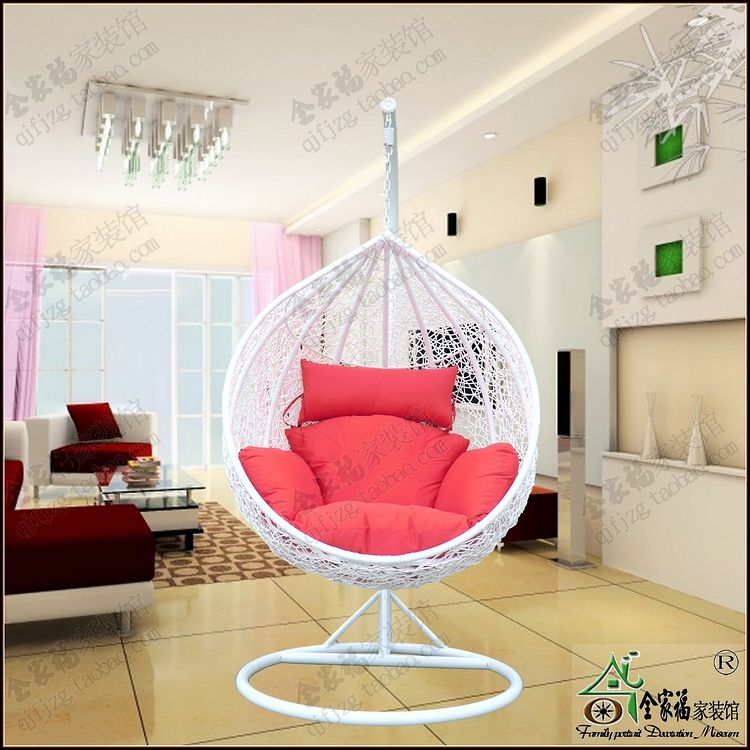 chaise en rotin suspendus fauteuil suspendu panier en rotin chaise ber ante int rieur et d. Black Bedroom Furniture Sets. Home Design Ideas