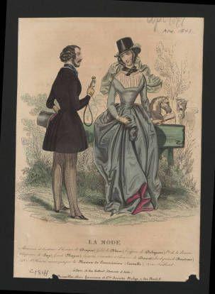 Women 1841, Plate 022 :: Costume Institute Fashion Plates