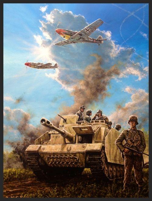 AXIS FRONT 1944 | Военное искусство, Фэнтези, Танк