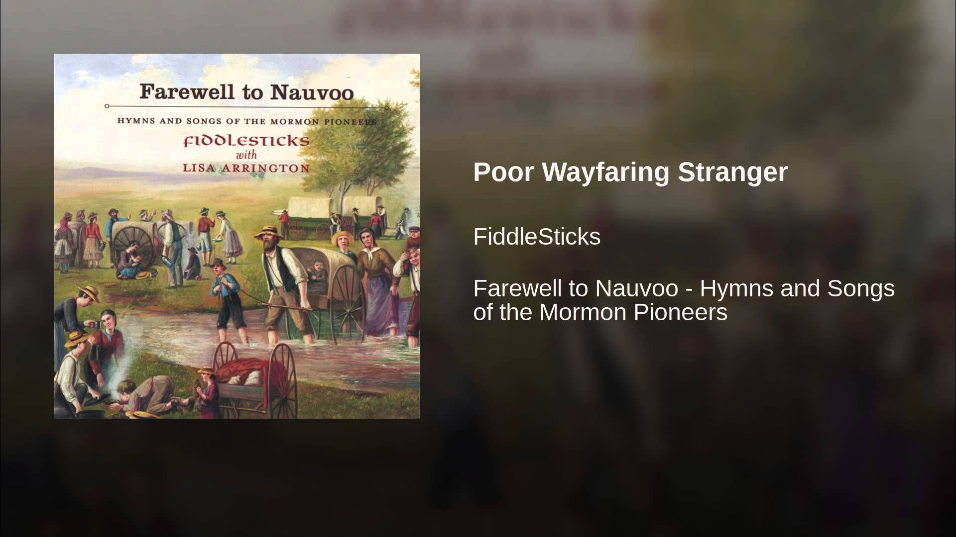 Poor Wayfaring Stranger Lord Of The Dance Songs Humble Heart