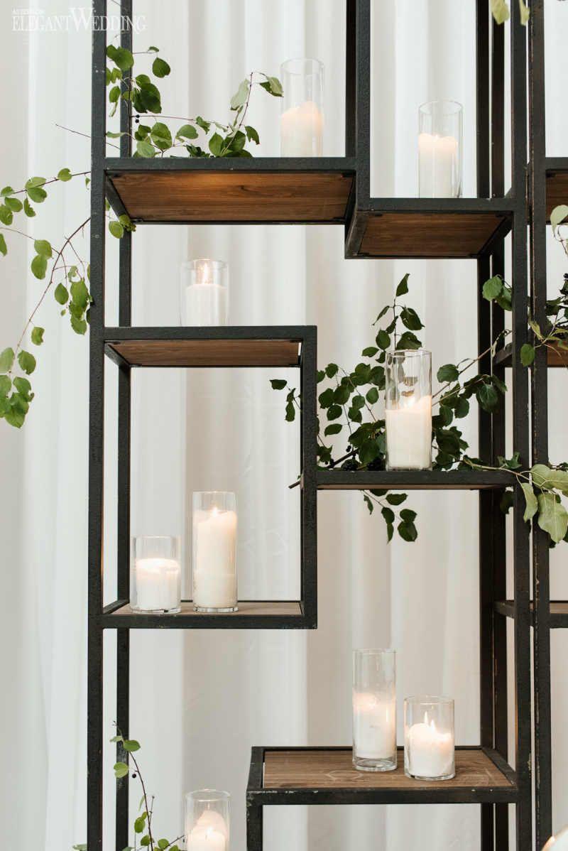 Decor ideas for traditional wedding  Modern Black and White Wedding  Girlus Flower Arranging  Pinterest