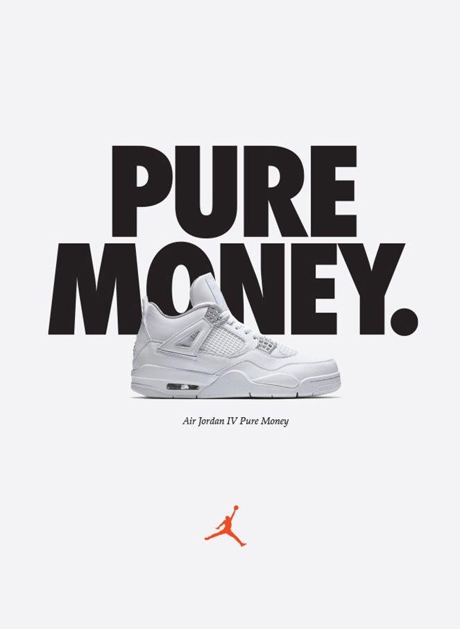 Nike Air Jordan Iv Pure Money