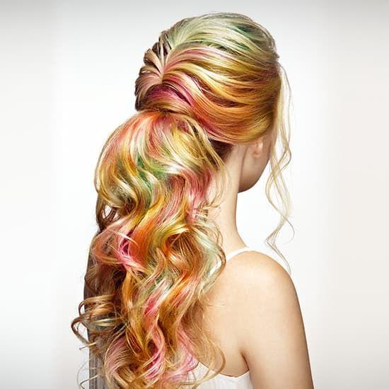Fashion Loreal Paris Asian: How To Get Kaleidoscope Hair