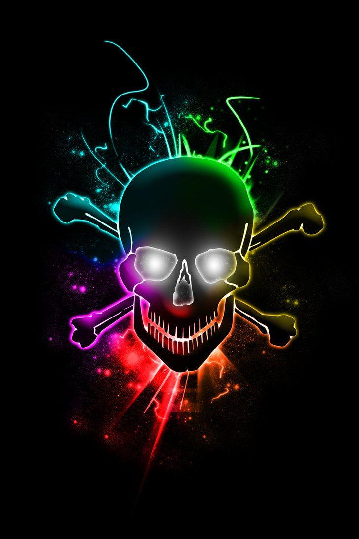 Glowing Skull Skull Artwork Skull Wallpaper Skulls Drawing Skull tattoo 4k wallpaper
