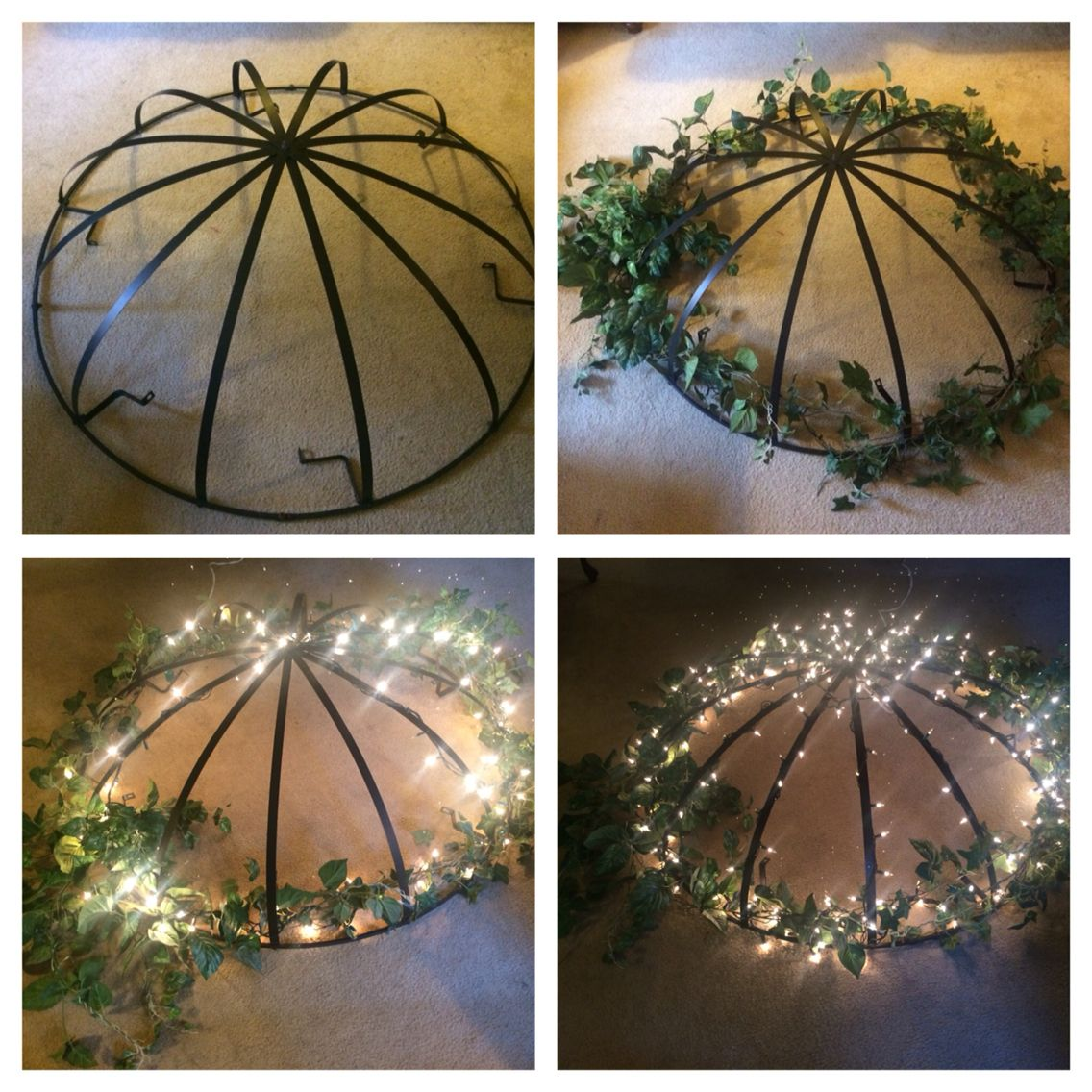 Create A Hanging Gazebo Light. Backyard ...