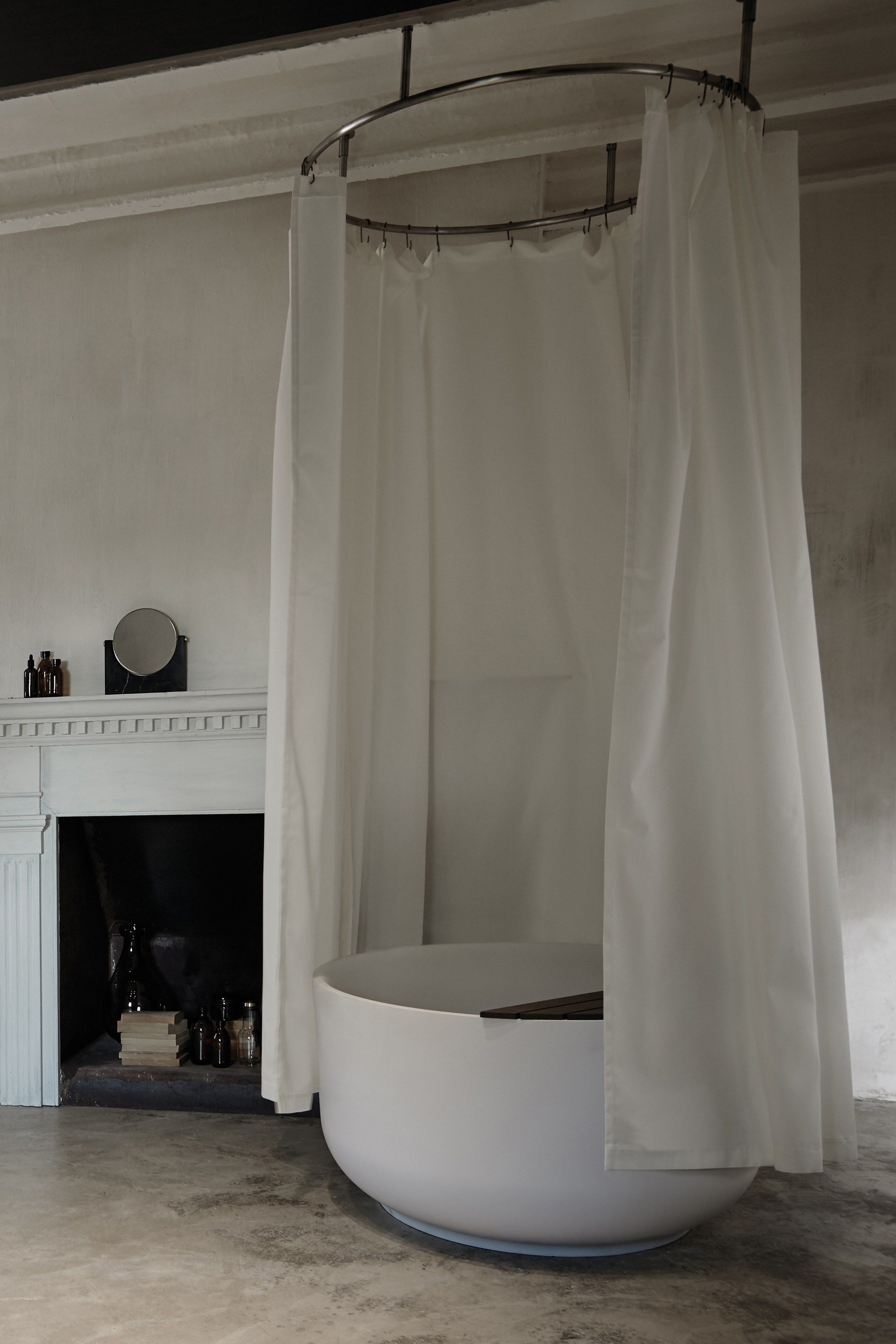 Shower curtain ORIGIN | Shower curtain - @inbani | Ceramics ...