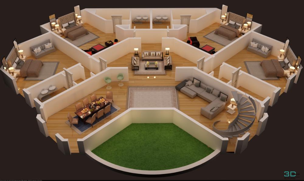 3 D Home Planner Software Free Download Home Decoration Ideas Arsitektur Rumah Denah Rumah Desain Exterior Rumah