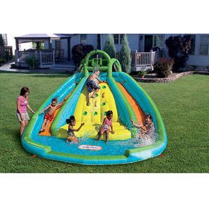 Little Tikes Rocky Mountain River Race Inflatable Water