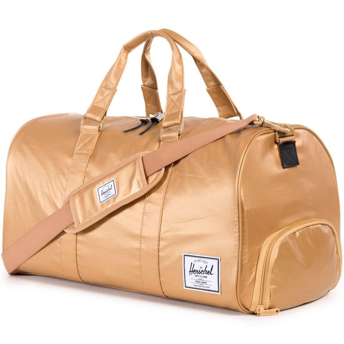 Herschel Supply Co Novel Duffle Bag Nylon Collection Gold