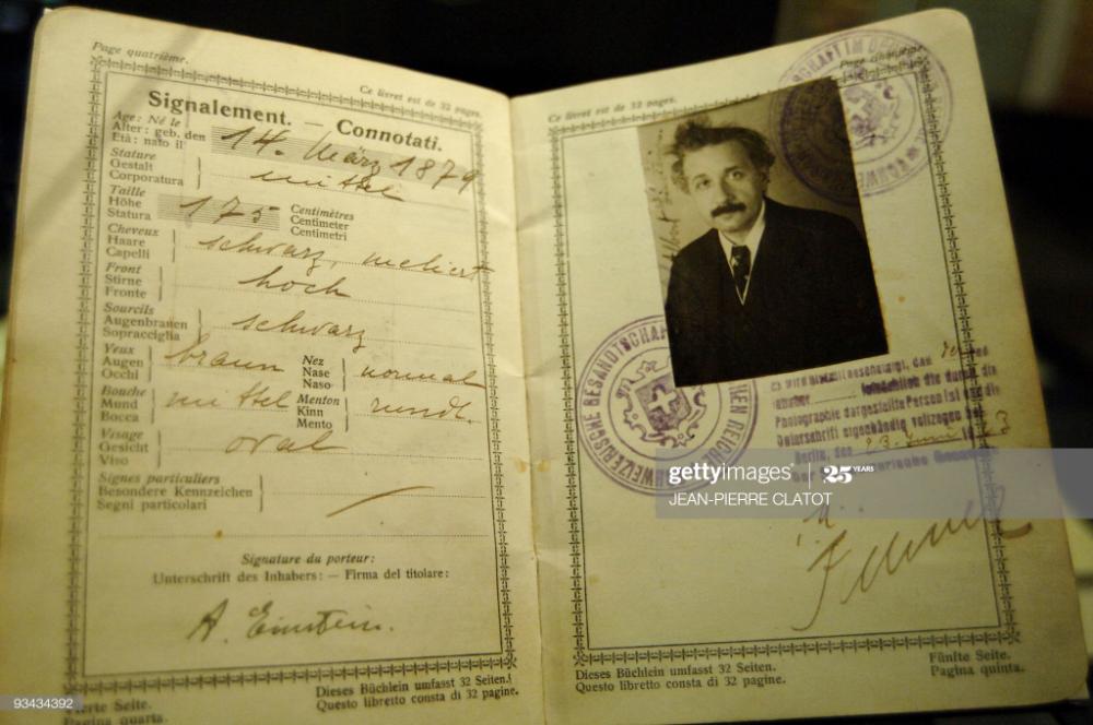 Story Afpentertainment Switzerland Einstein Museum Exhibition Passport Pictures Passport Photo Einstein