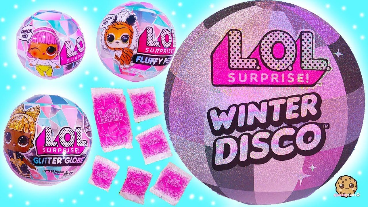Winter Disco New Lol Surprise Big Little Sisters Fuzzy Pets Blind Bags Little Sisters Cookie Swirl C Lol Dolls