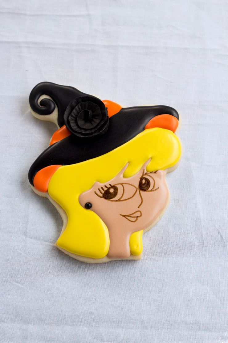 Witch Cookies for Halloween (With images) Witch cookie