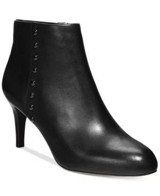 8e96064db4b COACH Hickory Dress Booties | macys.com | ♡ Shoes | Shoe boots ...