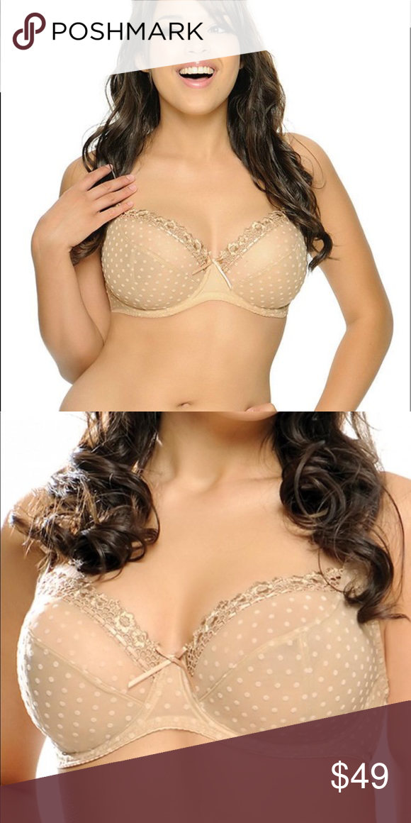 2b7bda788 Curvy Kate Nude Princess Bra Full Coverage Mesh Curvy Kate • Princess Bra  Nude • Women s