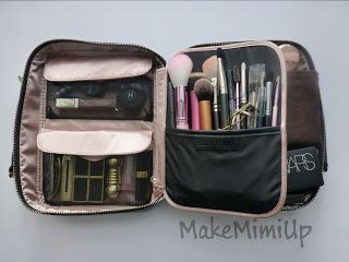 Makemimiup High End Makeup Adventures Bobbi Brown Deluxe Travel Kit What S In My Bag