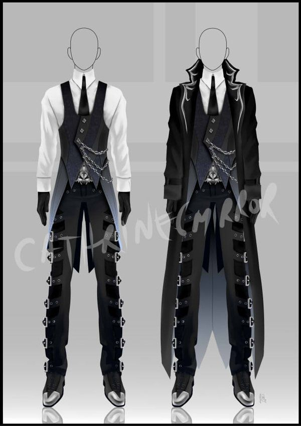 A Custom Outfit Made For 39 S Mega Hot Oc Mogura Can 39 T Wait To See Him Wear It I Am Excited Clothes Design Anime Outfits Art Clothes