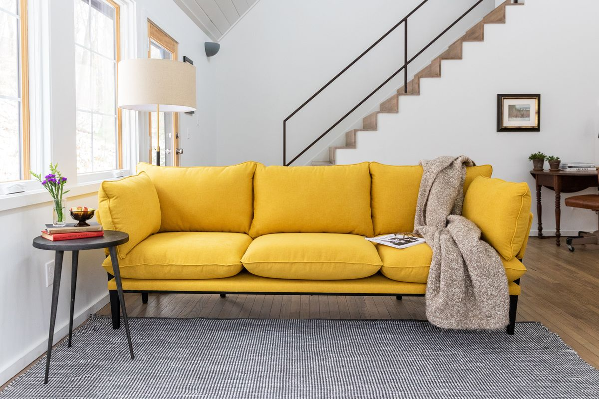 Yellow Möbel Domino The Sofa The Floyd Sofa In 2019 Renting A House Sofa