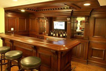 Custom Residential Bar Traditional Home Bar Newark Wl Interiors Custom Home Bars Bars For Home Home Bar Areas