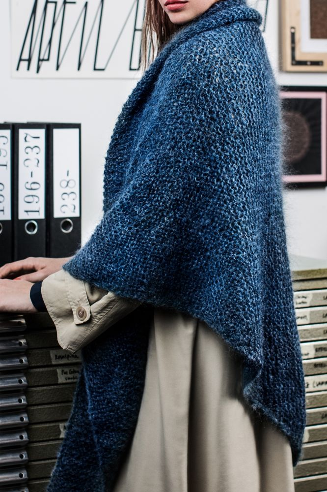 Kostenlose Anleitung: Dreieckstuch - Initiative Handarbeit #scarves