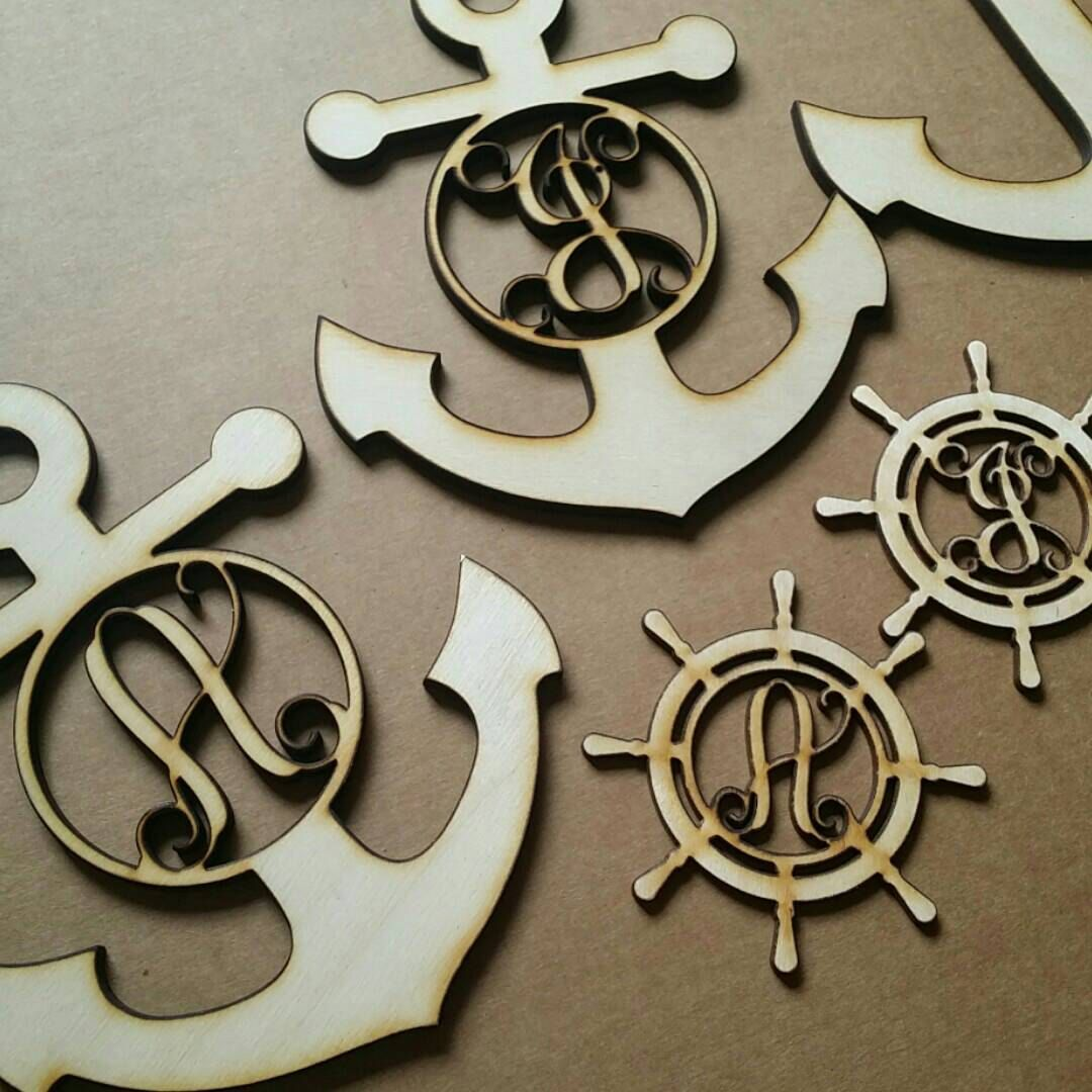 Just in!!! Some fun monograms to customize my nautical wreaths⚓⛵