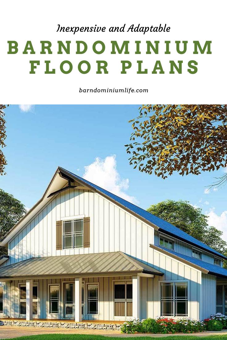 5 More Inexpensive and Adaptable Barndominium Floor Plans