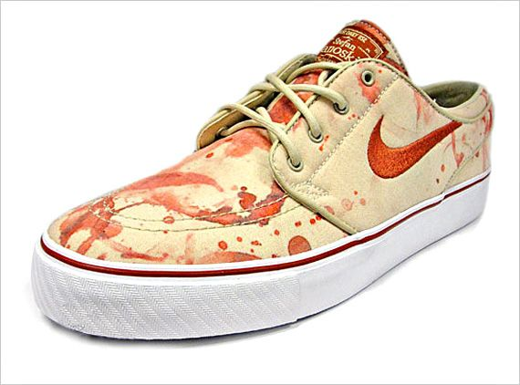 Nike Blood Stained Sneakers Make You Look Guilty via @Incredible Things