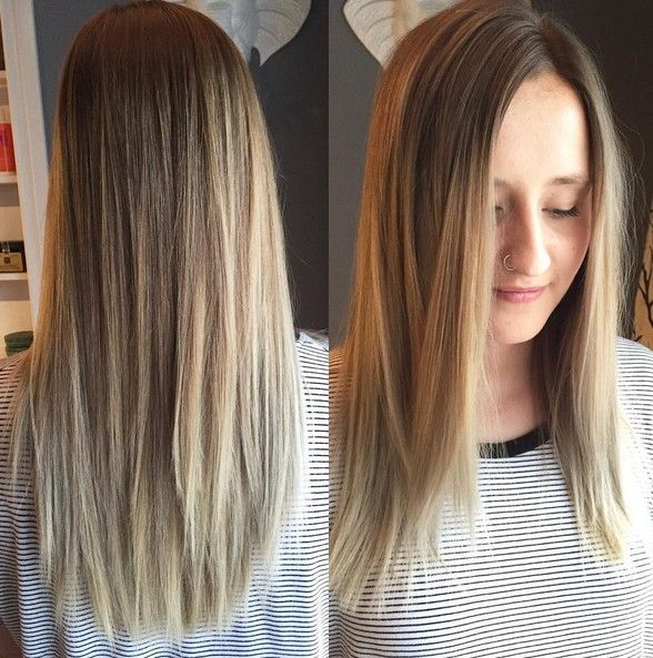 41 Latest Ash Blonde Hair Colour Shades Styles Straight Blonde