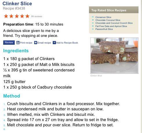 Clinker Slice