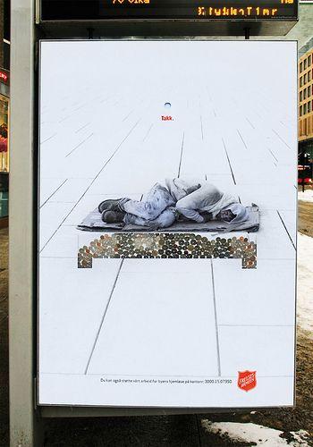 صناديق تبرعات باشكال جديدة تعب ر عن المحتاجين Creative Creative Advertising Effective Ads