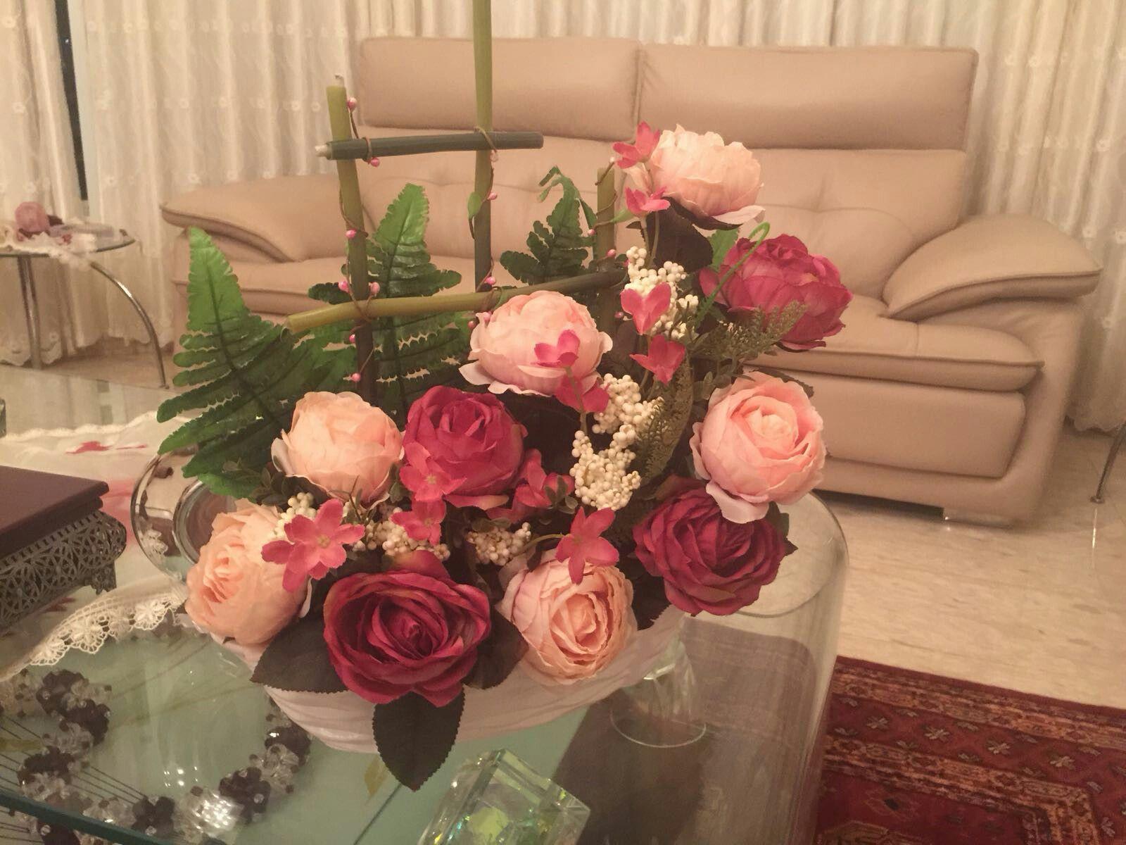 غاده حصري دورة تنسيق ورد Floral Wreath Flowers Floral