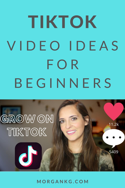Tiktok Ideas For Beginners To Grow Your Account Social Media Tips Beginners Gain Followers