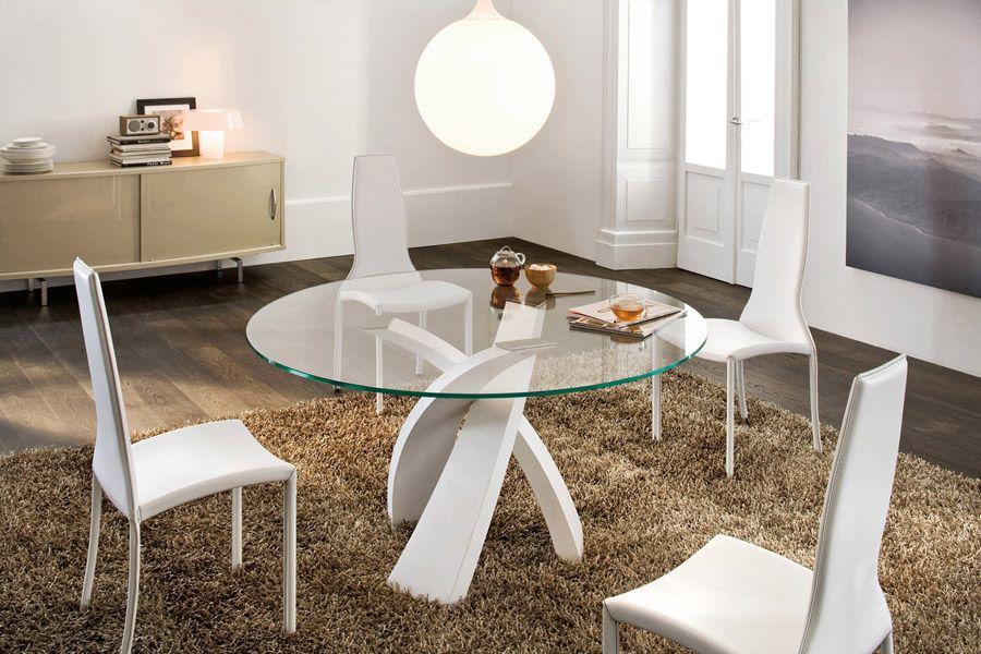 Domus Arredi Lissone - Veneta Cucine | Tavolo rotondo vetro ...