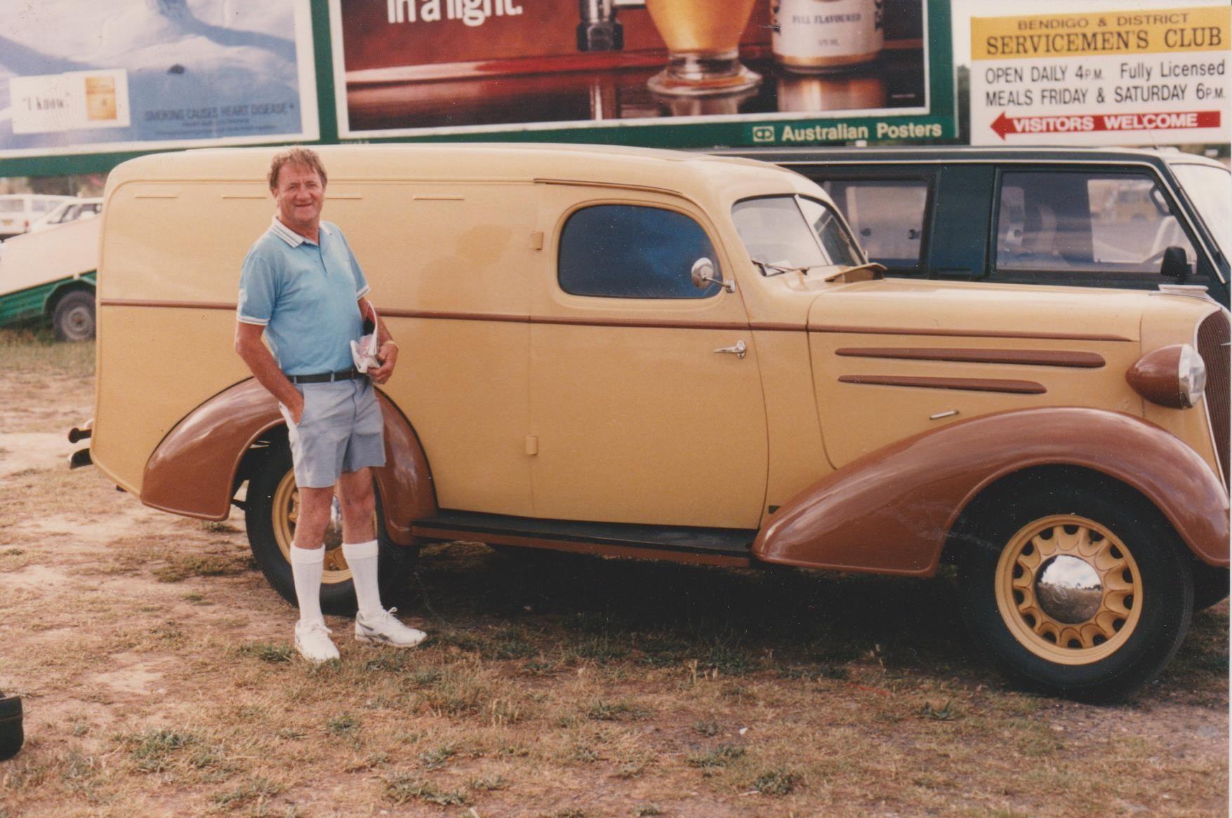 1936 Holdens Body Chevrolet Standard Panel Van Vans Chevrolet