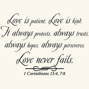 Famous Wedding Quotes This Is My Fav Bible Verseit Truly Explains In A Beautiful And