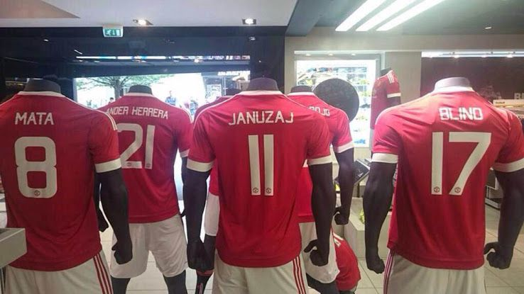 Adidas Manchester United 15-16 Font Revealed - Footy Headlines  4a0647d49
