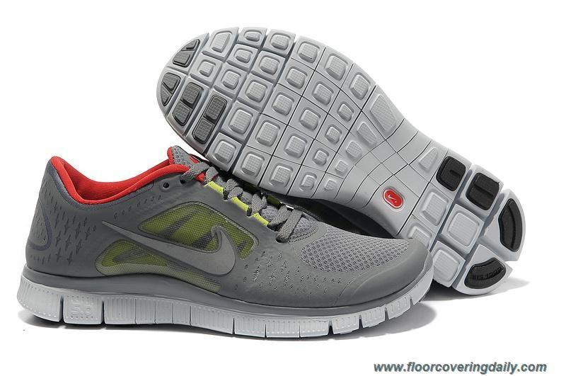 New Womens Cool Grey Red 510642 006 Nike Free Run 3 | Nike