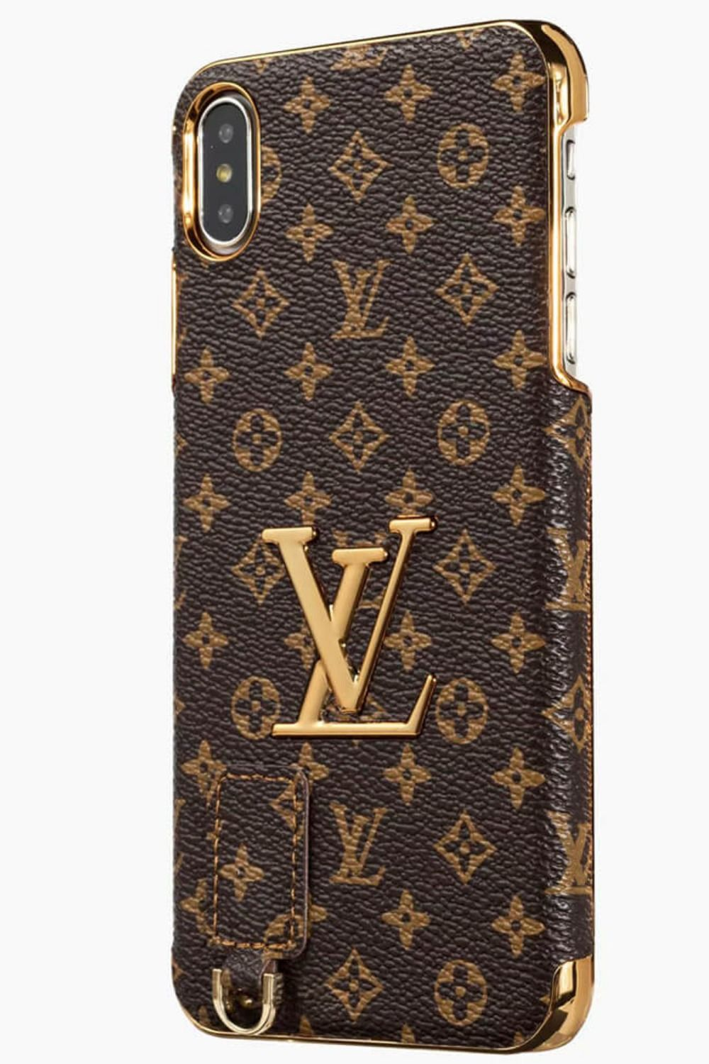 Photo of LV iPhone-etui Brun 11 Pro Xs Max Xr 8 Plus 3D Plating Leather 10162