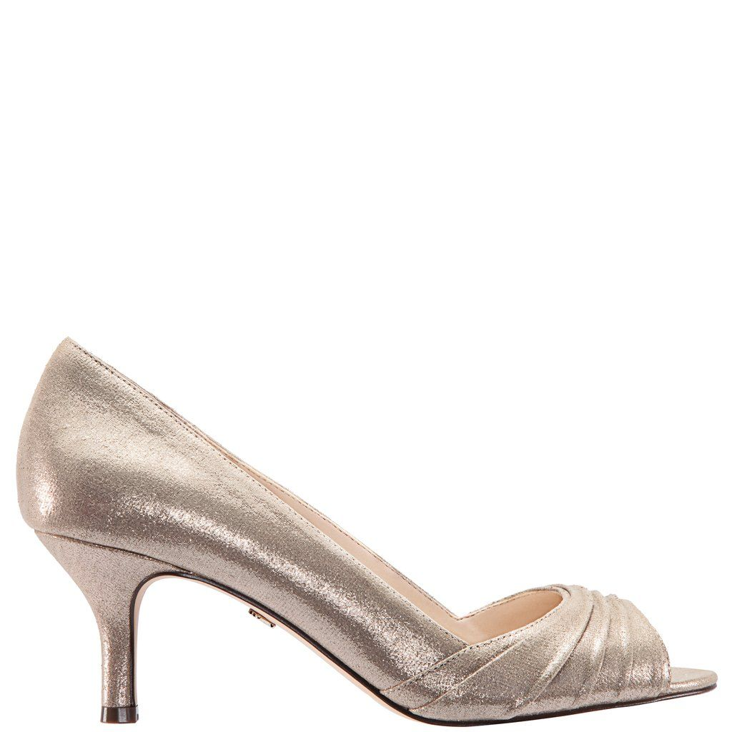 99e64be330d Chezare-taupe reflective suedette | Nina Shoes | Fall New Arrivals ...