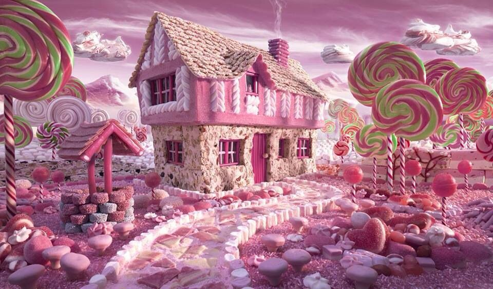 Candy world by... unknown