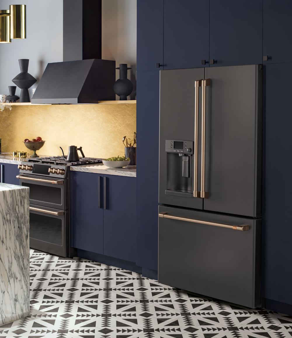 Matte Black Customizable Professional Kitchen Appliances ...