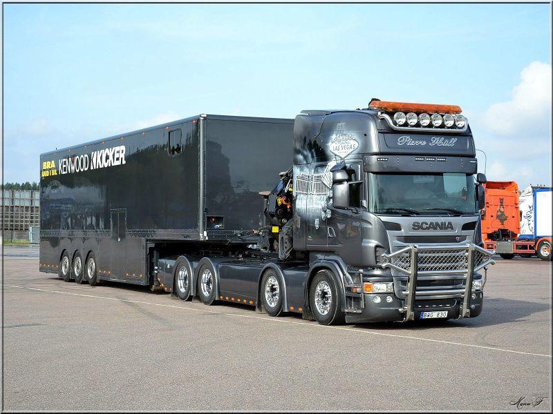 Assez Scania R620 V8 Topline | 4 axles semi truck | Pierre Häll  ZE32