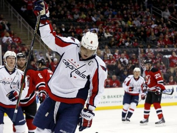 Alex Ovechkin Scores 49th Goal Of The Year Washington Capitals Alex Ovechkin Nhl News Usa Today Sports
