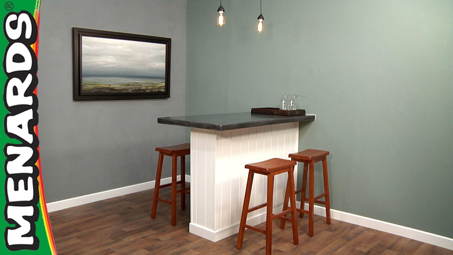 Build a concrete pub table how to menards pub table