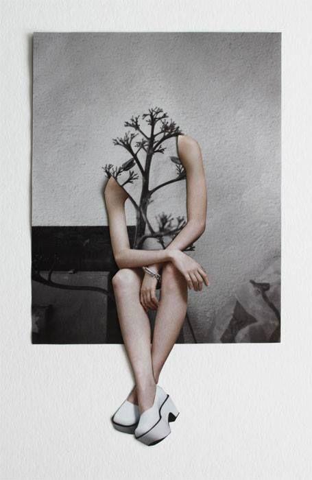 Art Of Overwhelm Visual Art Photomontage Collage Art