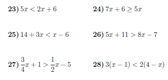 Linear Inequalities Worksheet With Solutions Linear Equations Graphing Linear Equations Solving Linear Equations