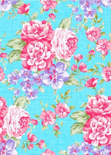 girly wallpaper Floral wallpaper phone, Blue floral