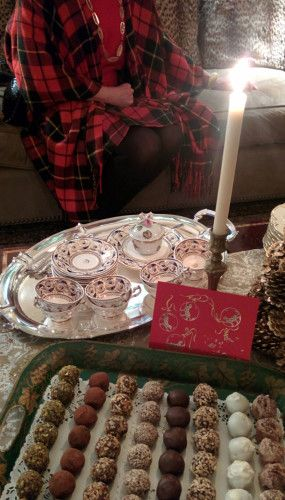 Christmas Cookies and Tea