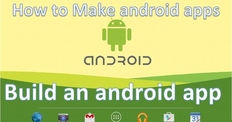 How to make an android app, Android Install Android Studio