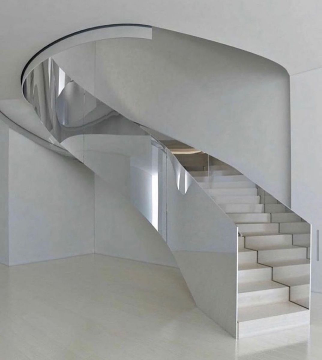 Pin by 𝑩𝒚𝒖𝒏𝒏𝒊𝒆 𝑩𝒐𝒐 on interior in 2020 | Modern staircase, Stairs design, Interior staircase